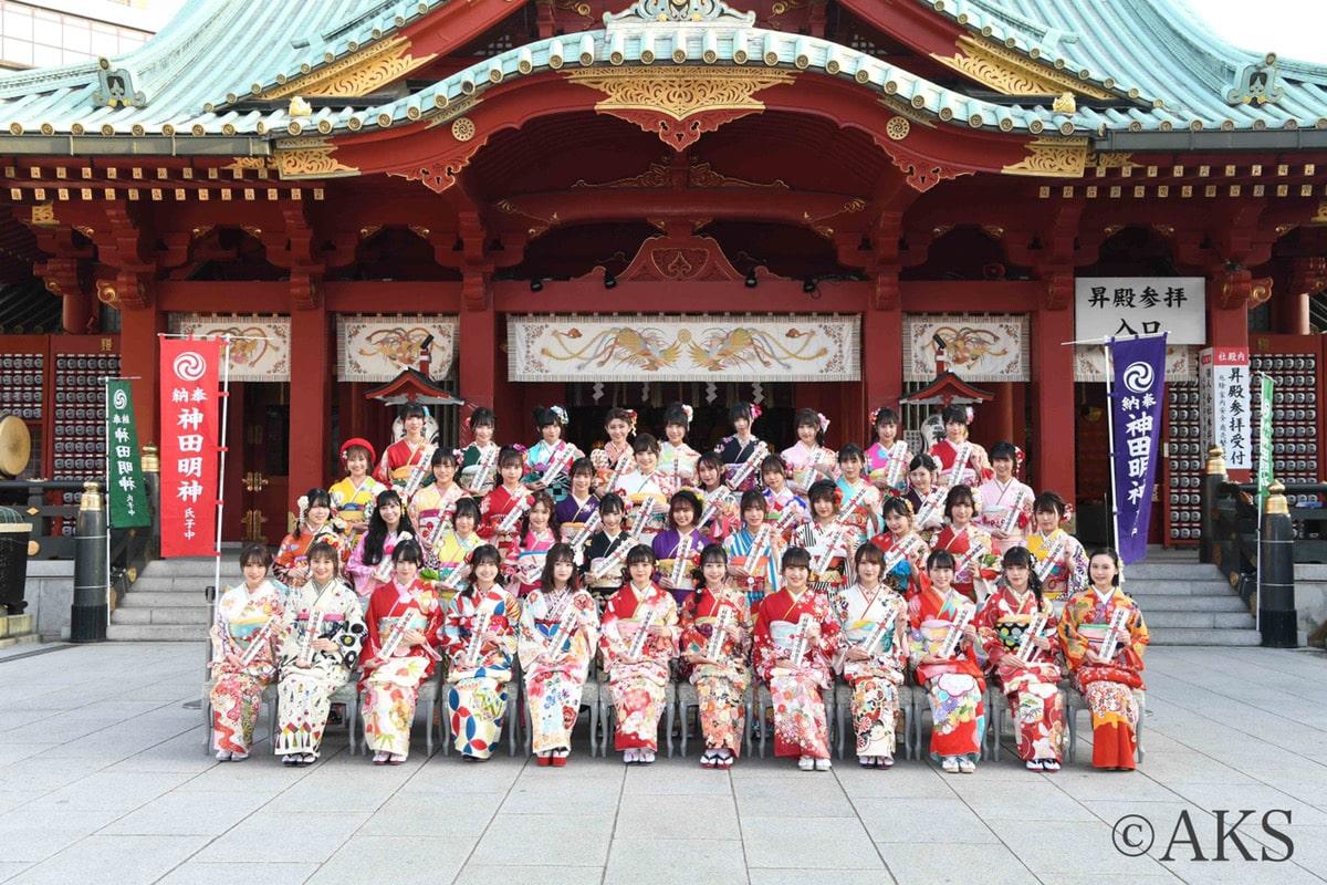 2020年1月13日AKB48グループ成人式にてオンディーヌが衣装提供をいたしました!