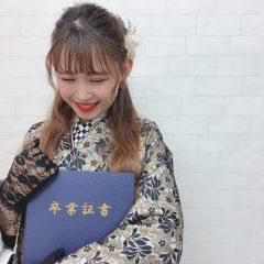 【Vol.1】テイスト別にみる袴コーディネート♥