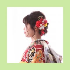 【古典】成人式&前撮りのヘアメイク♡