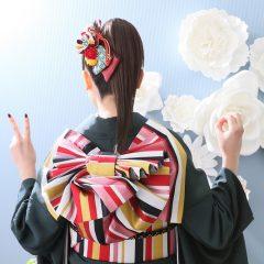 【個性派】成人式&前撮りのヘアメイク♡