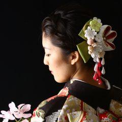 【クール】成人式&前撮りのヘアメイク♡